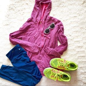 Lucy Pink Hoodie